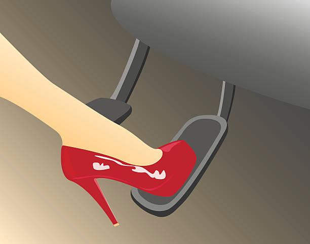 ilustraciones, imágenes clip art, dibujos animados e iconos de stock de temerario en automóvil - pedal