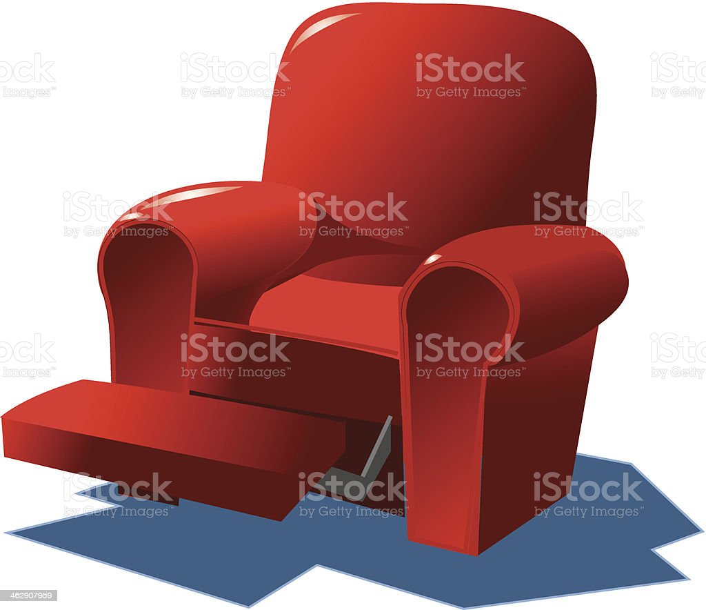 royalty free recliner chair clip art vector images illustrations rh istockphoto com chair clipart image chair clipart top view