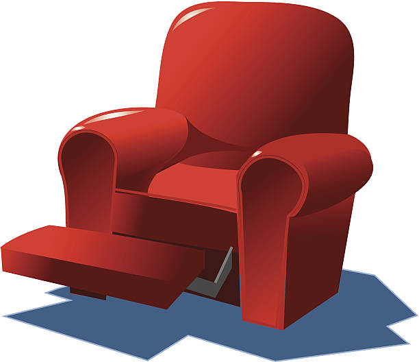 Recliner C Vector Art Illustration