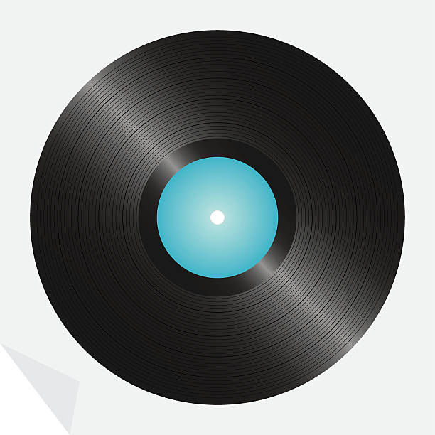 LP Record, detailed vector illustration (one credit) vector art illustration