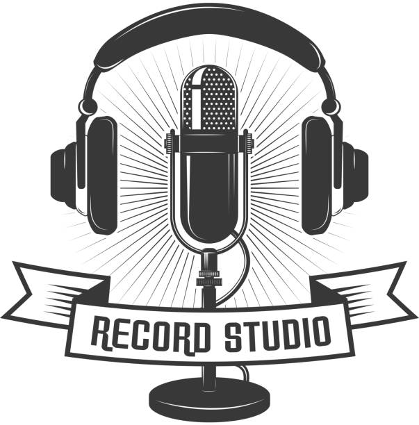 2,610 Vintage Recording Studio Illustrations, Royalty-Free Vector Graphics & Clip Art - iStock