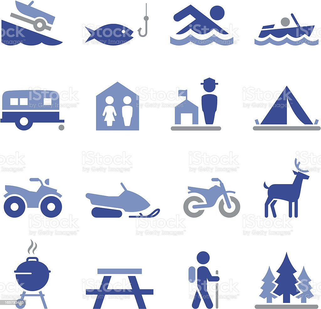 Recreation Icons - Pro Series royalty-free recreation icons pro series stock vector art & more images of activity