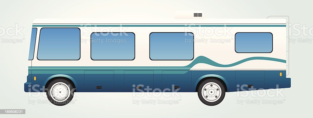Recreational Vehicle RV royalty-free stock vector art
