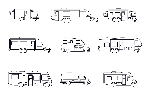 Recreational Vehicles, Motor Homes and Camping Trailers