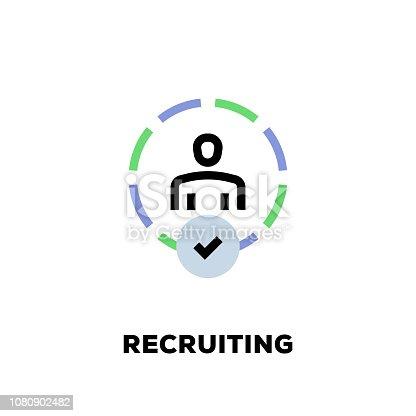 Recruiting Line Icon