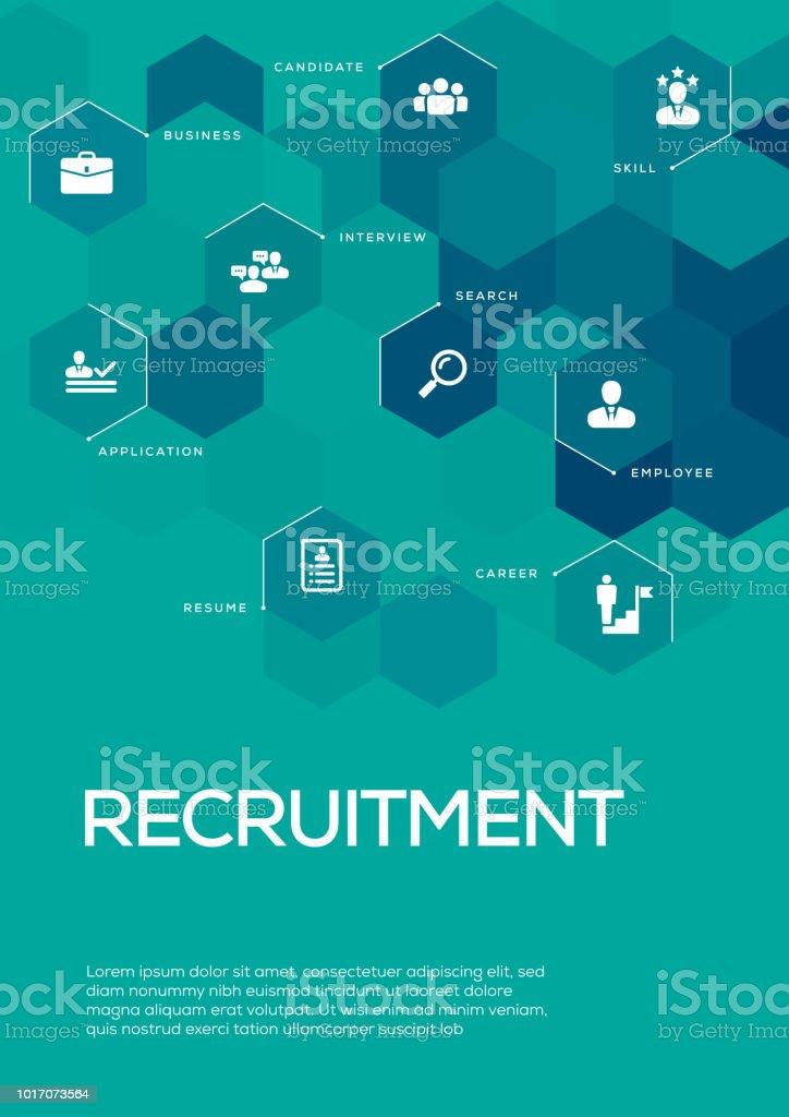 recruitment brochure template layout cover design stock vector art