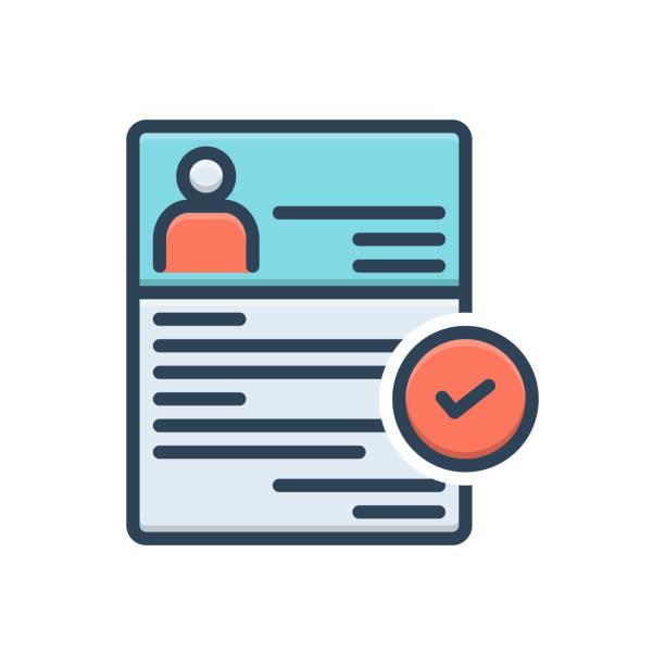 Recruitment enlistment Icon for recruitment, enlistment, enrolment, conscription, mince, recruitment, registration enrollment stock illustrations