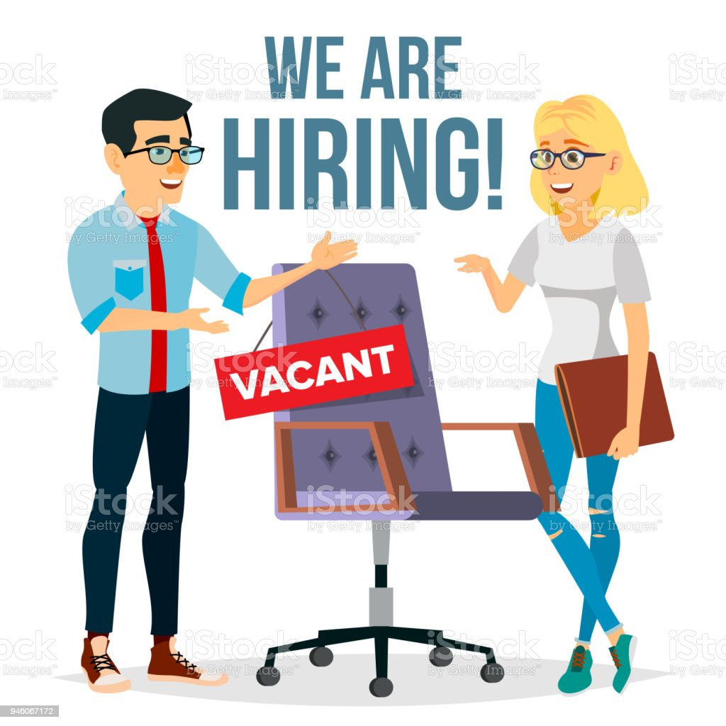 Recruitment Process Vector Human Resources Choice Of Candidate