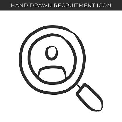 Recruitment Single Line Icon