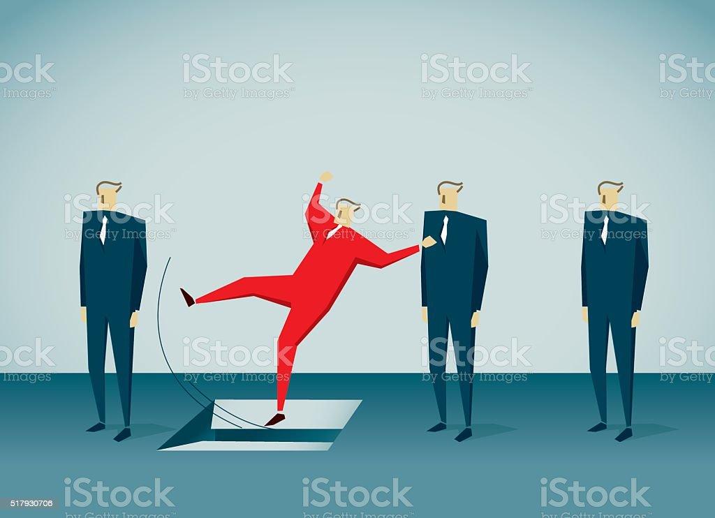 Recruitment vector art illustration