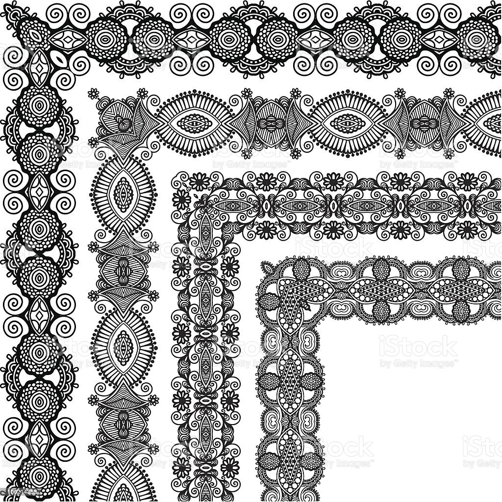 rectangle ornate frame royalty-free stock vector art