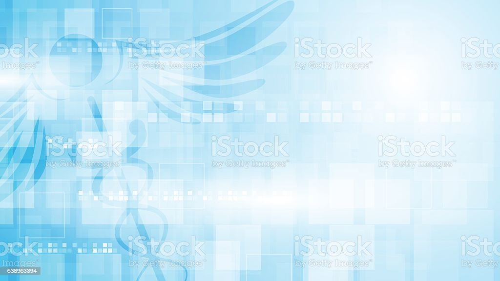 rectangle pattern medical health care concept background vector art illustration