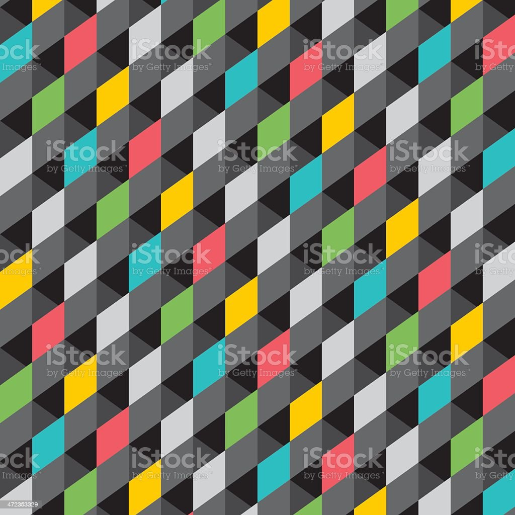 rectangle pattern royalty-free stock vector art