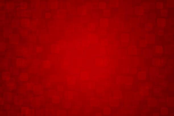 stockillustraties, clipart, cartoons en iconen met een rechthoekige creatieve merry christmas rode self gekarteld / geruite achtergrond-vectorillustratie xmas - december