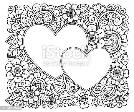 Buque De Flores Para Colorir Pagina Para Adultos Clipart Imagem