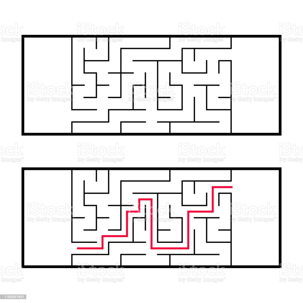 Rectangular Labyrinth Maze An Interesting And Useful Game