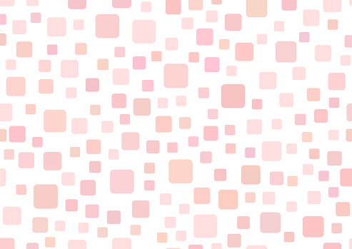 Rectangular template with squares. Simple girly background.