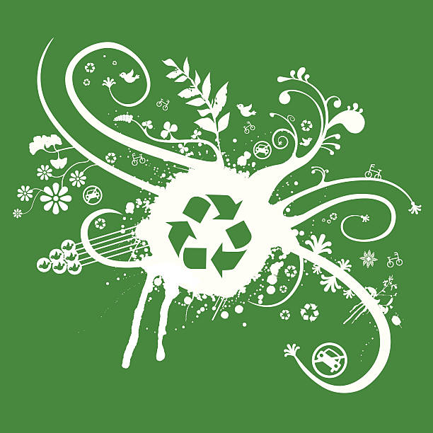 Recycle Abstract 6967597 vector art illustration