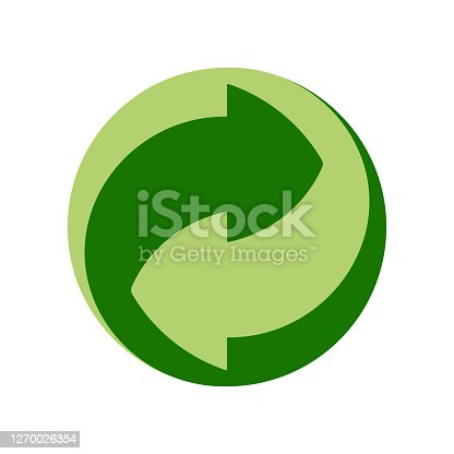 istock Recycle and some packaging sign 1270026354