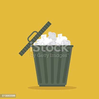 istock recycle bin icon vector 510683598