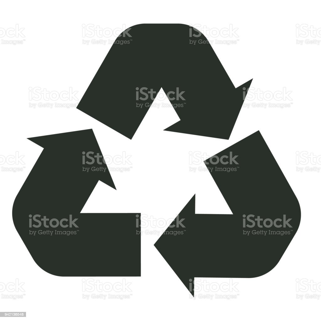 Recycle icon on white background recycle sign flat style reuse recycle icon on white background recycle sign flat style reuse symbol royalty buycottarizona Choice Image