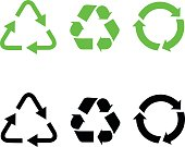 Recycle icons.