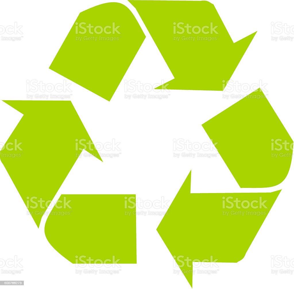 Recycling Logo Vector File Alternative Clipart Design