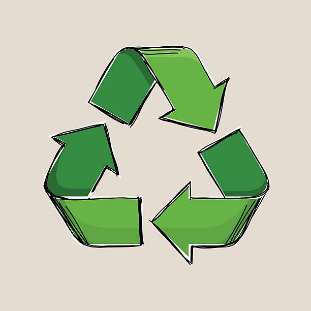 Royalty Free Symbol Recycling Recycling Symbol Sketch Clip Art