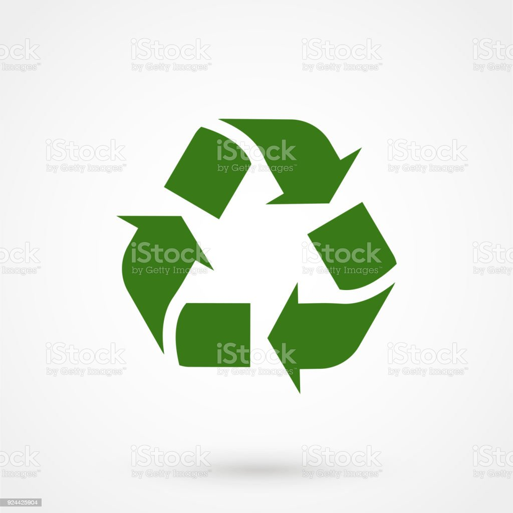 Recycle symbol vector green cycle on a white background stock vector recycle symbol vector green cycle on a white background royalty free recycle symbol vector buycottarizona Choice Image