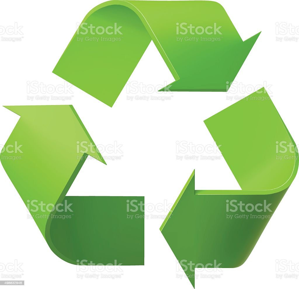 Recycle Symbol Stock Vector Art More Images Of 2015 498832946 Istock