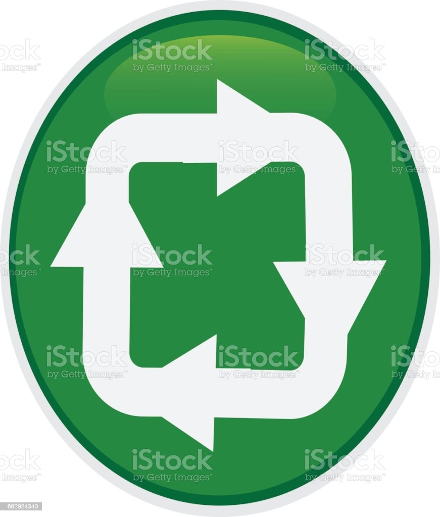 Recycle Symbol royalty-free recycle symbol stock vector art & more images of aluminum