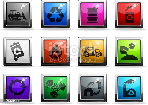 Recycle Symbols. EPS 10 file with transparencies. See also: