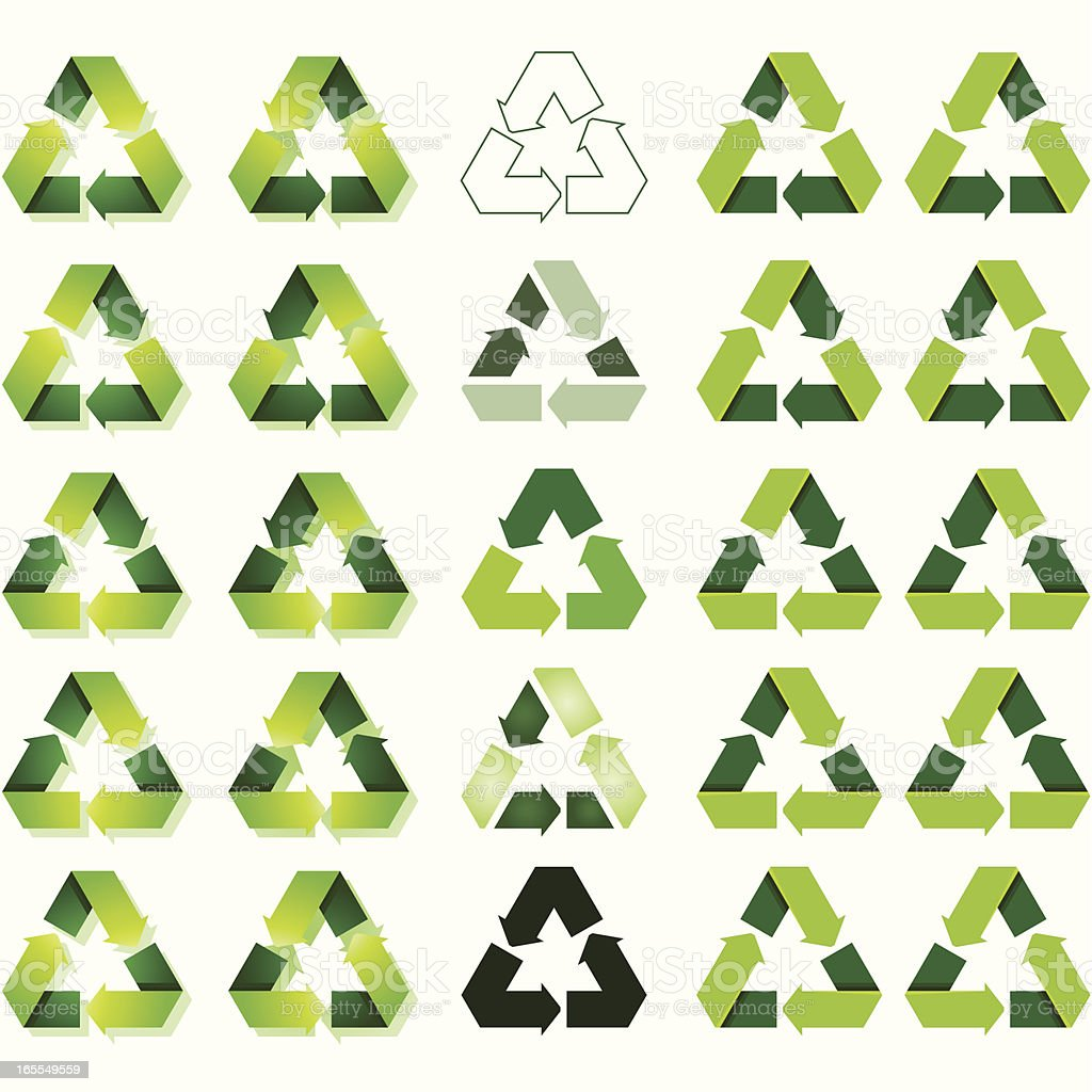 Recycle to the MAX !!! royalty-free stock vector art