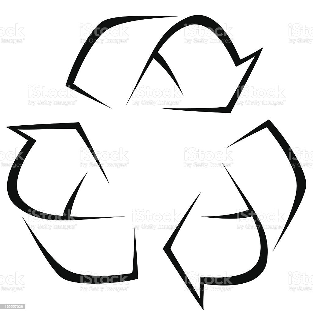 Recycle royalty-free recycle stock vector art & more images of arrow symbol