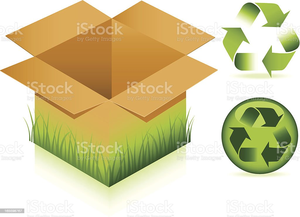 Recycle royalty-free stock vector art