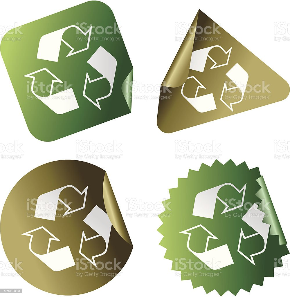 Recycle! royalty-free recycle stock vector art & more images of arrow symbol