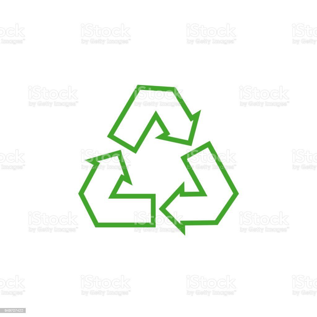 recycle vector template design illustration stock vector art more