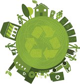Recycling All Over the Planet (Green World Series)