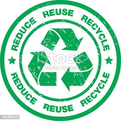 istock Recycling Badge 622889470
