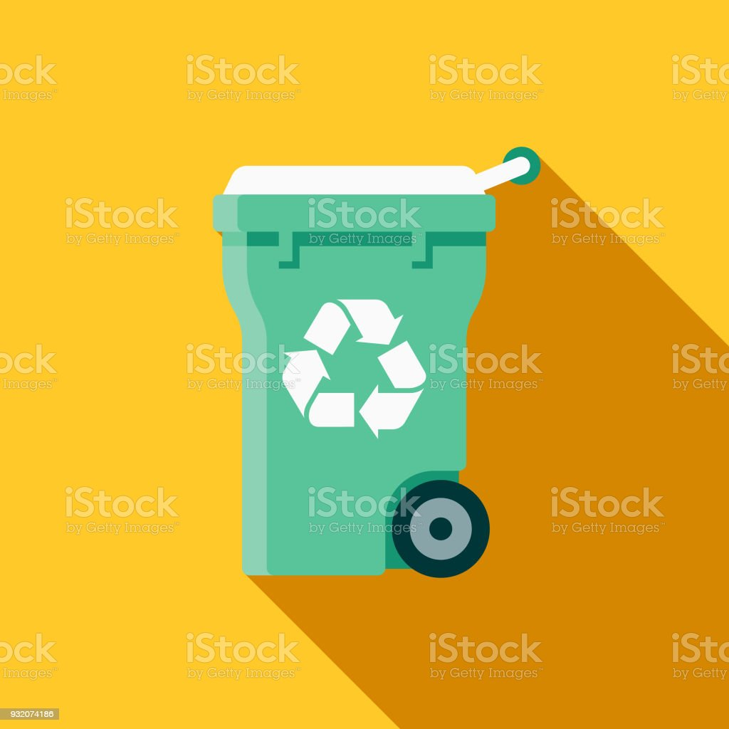 royalty free recycling bin clip art vector images illustrations rh istockphoto com recycling clip art pictures recycling clip art for kids