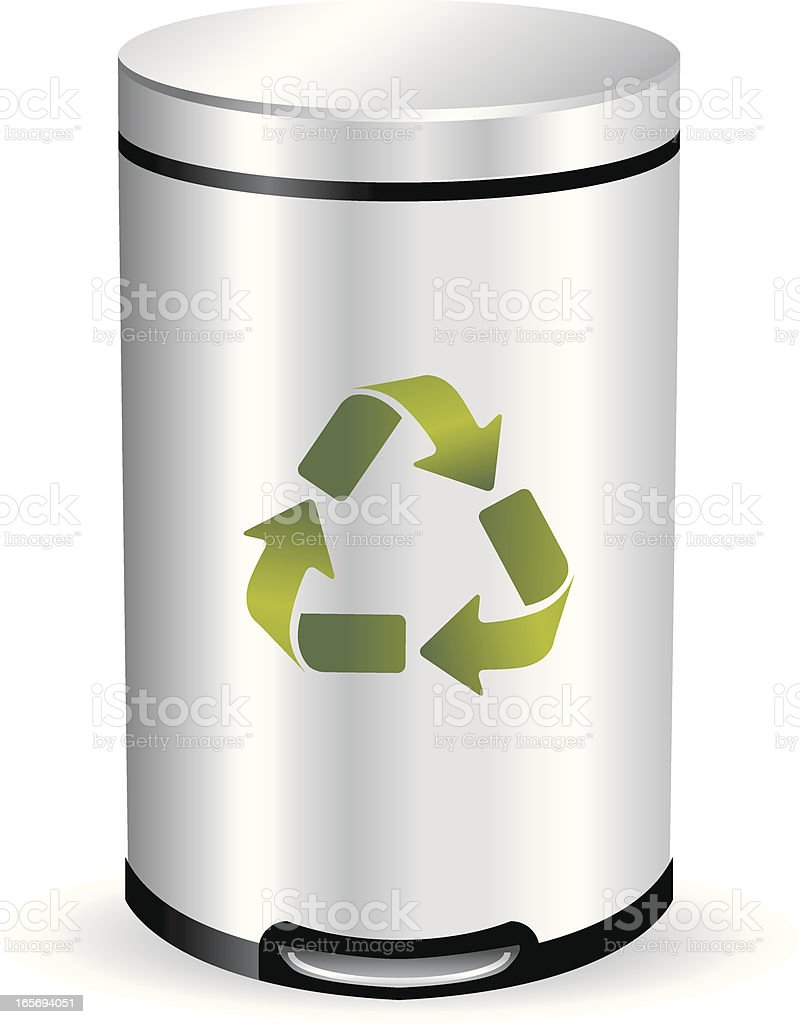 Recycling Can royalty-free stock vector art