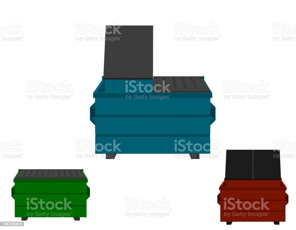 royalty free metal dumpster clip art vector images illustrations rh istockphoto com dumpster fire clipart dumpster clip art free