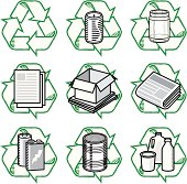 istock Recycling Icons 165762022