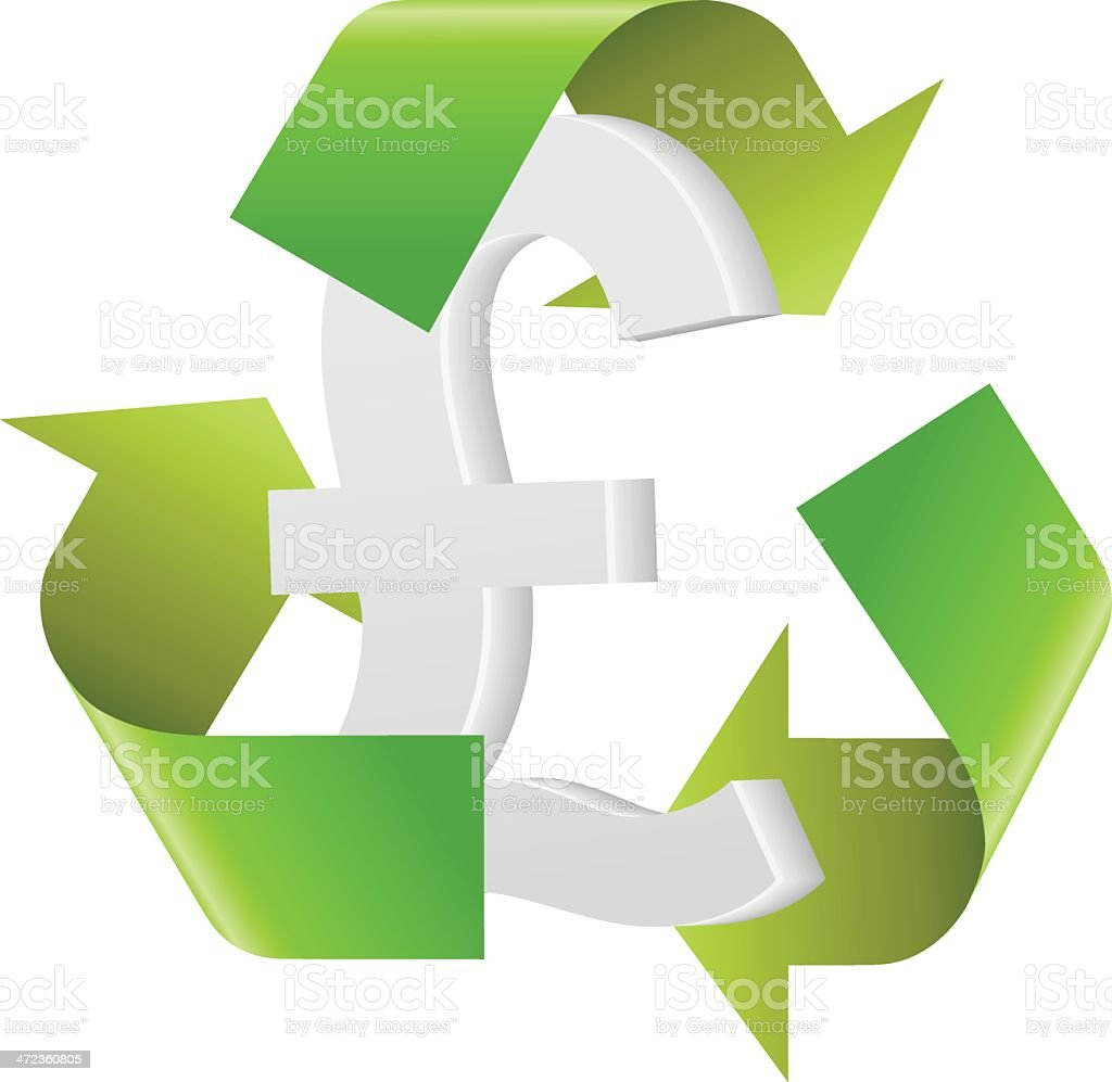 Recycling Pound royalty-free recycling pound stock vector art & more images of allegory painting