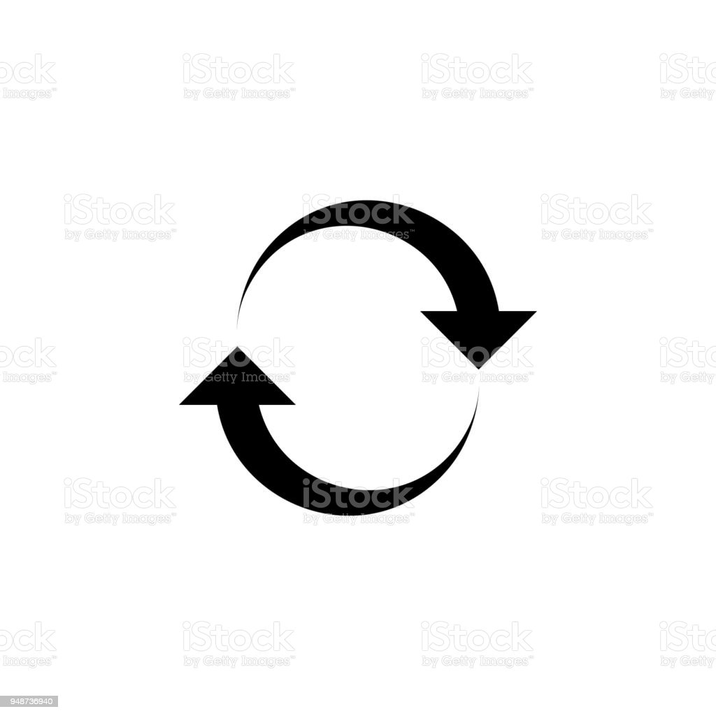 Recycling Symbol Icon Element Of Minimalistic Icon For Mobile