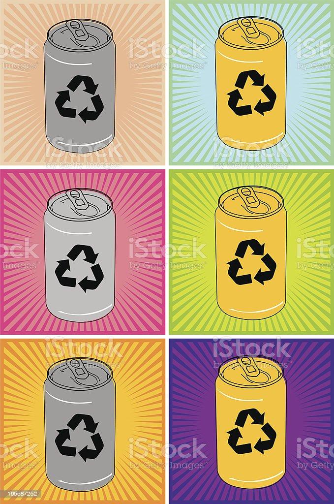 Recycling vector art illustration