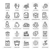 Recyling Icon Set