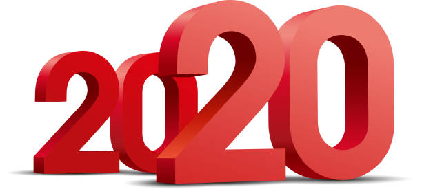 Rot 2020 – Vektorgrafik