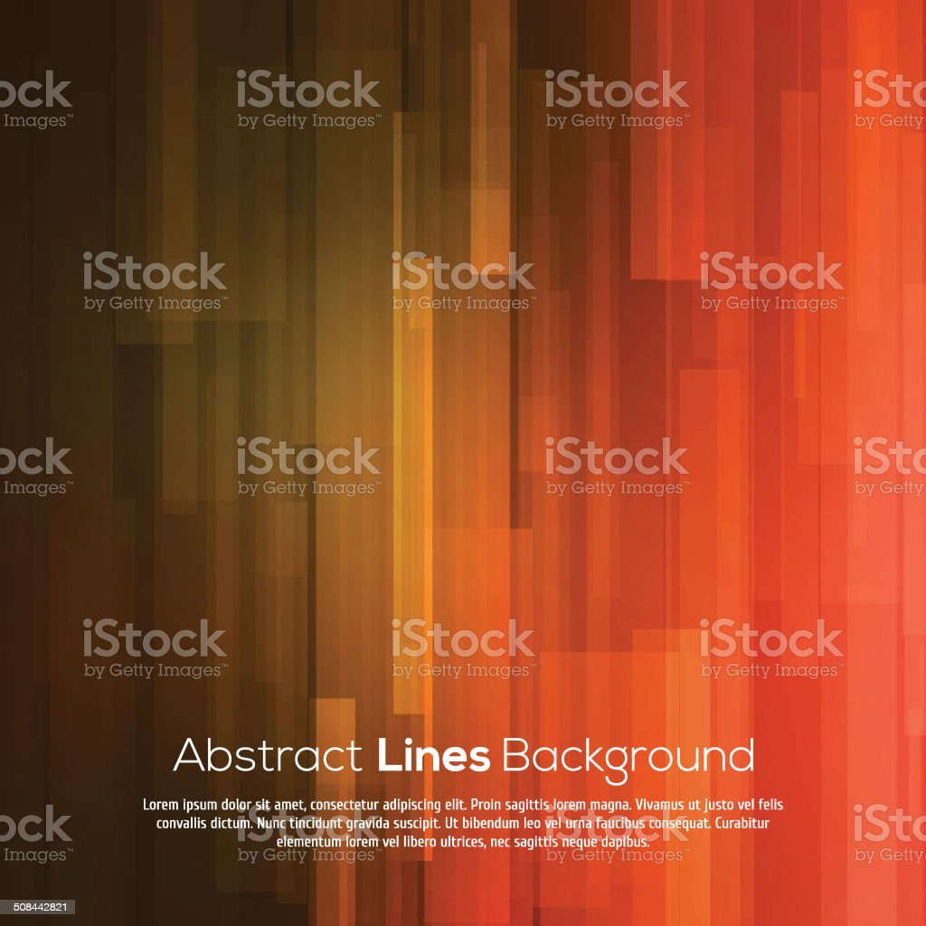 Red abstract lines business vector background. vector art illustration