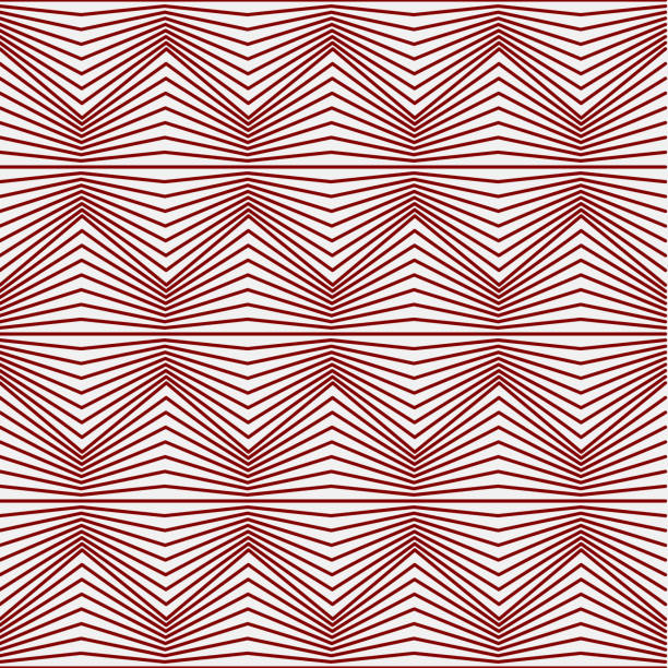Red Abstract Pattern background. vector art illustration